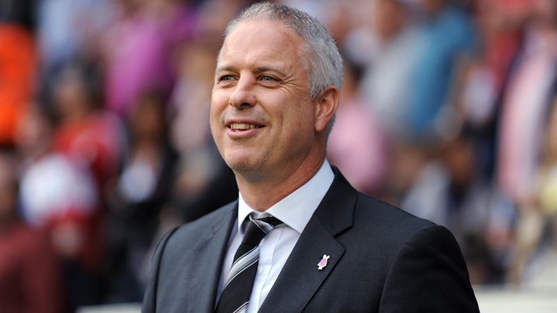 Fulham caretaker manager Kit Symons