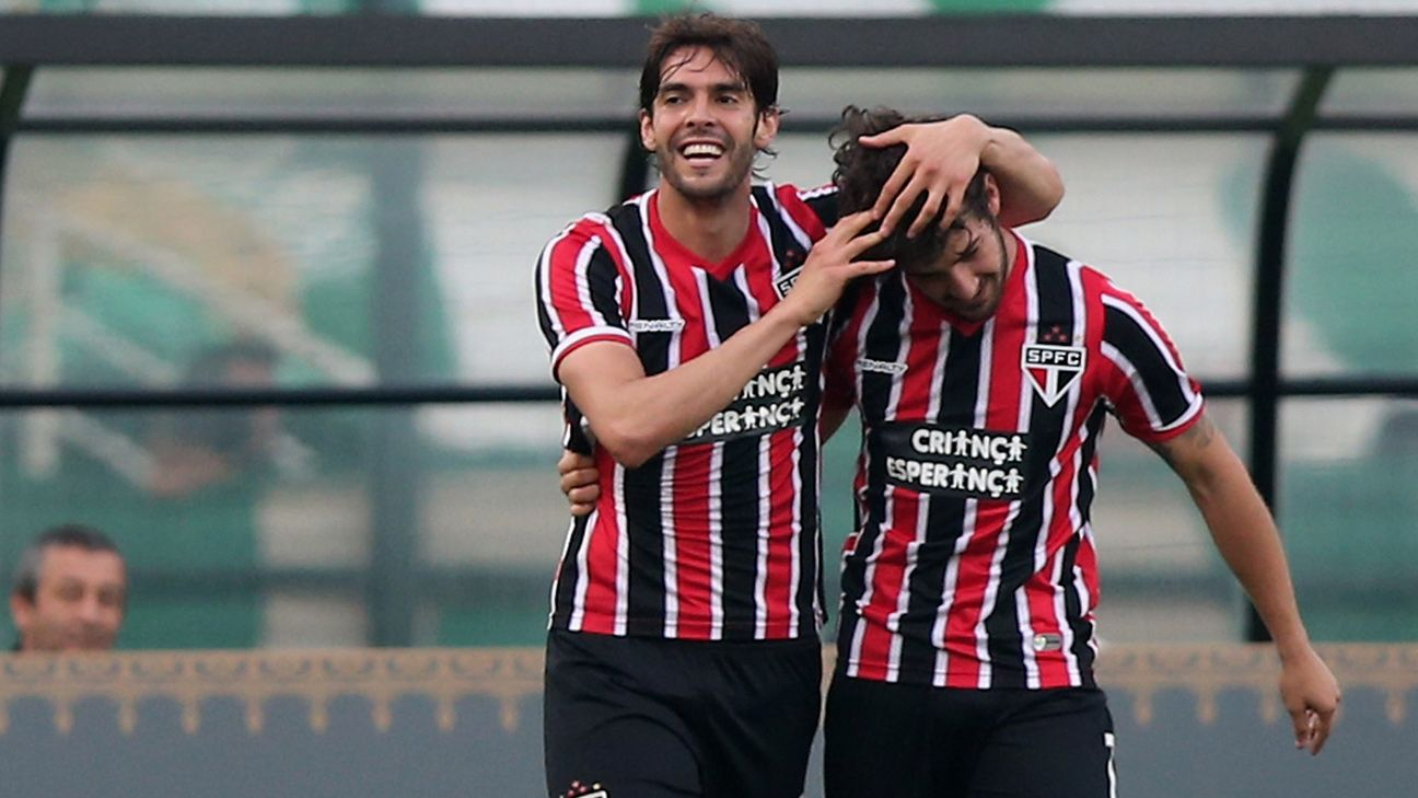 Kaka and Pato