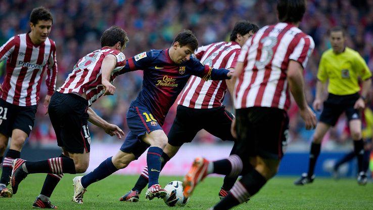Messi goal v Bilbao