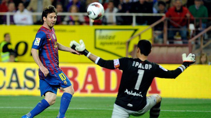 Messi goal v Sevilla