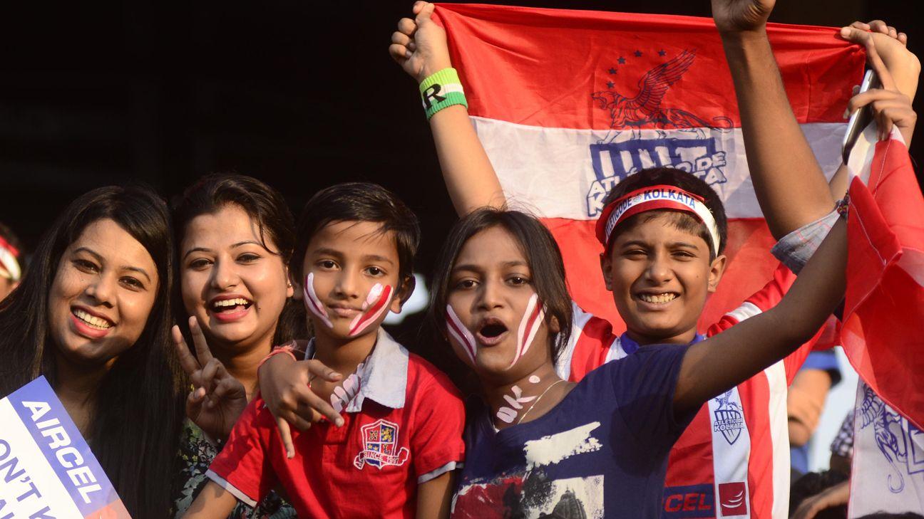 Kolkata fans