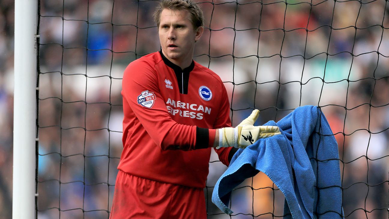 Tomasz Kuszczak, Brighton and Hove Albion goalkeeper