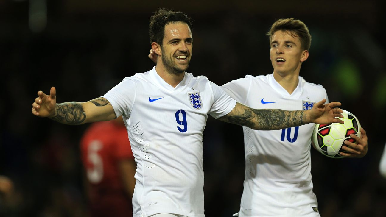 England's Danny Ings