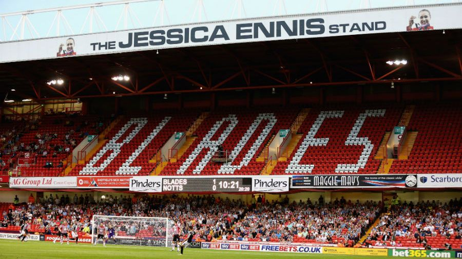 Jessica Ennis stand
