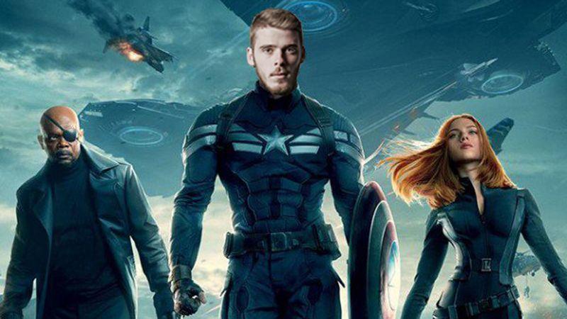 De Gea captain america