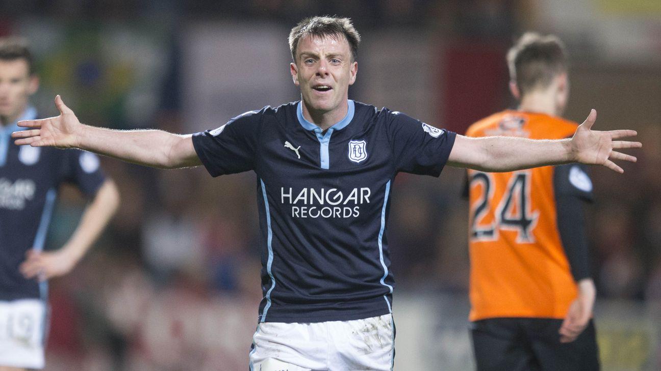 Dundee's Paul McGowan