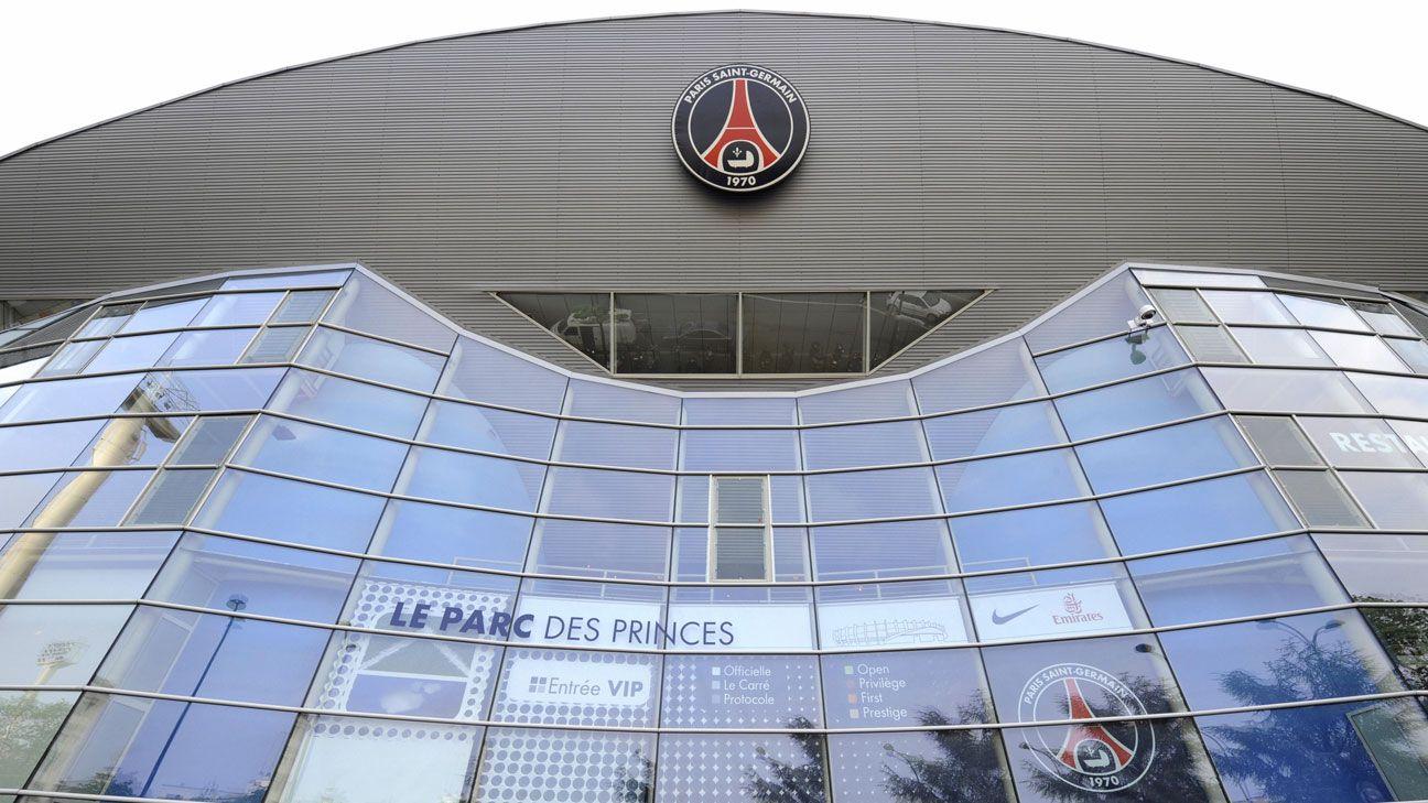 PSG stadium generic outside Parc des Princes