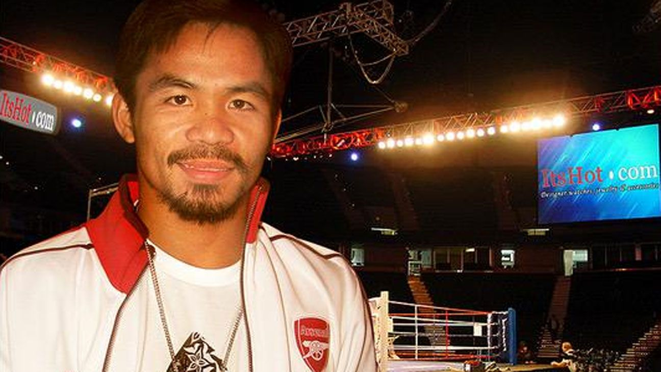 Manny Pacquiao Arsenal