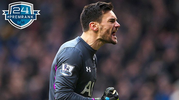 Hugo Lloris Premier League rank