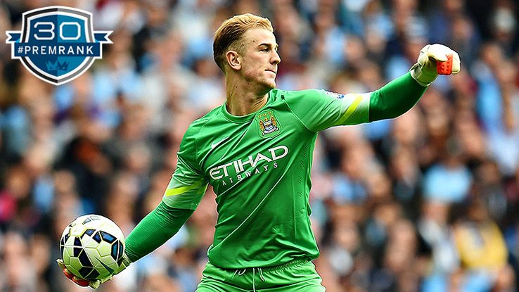 Joe Hart Premier League rank