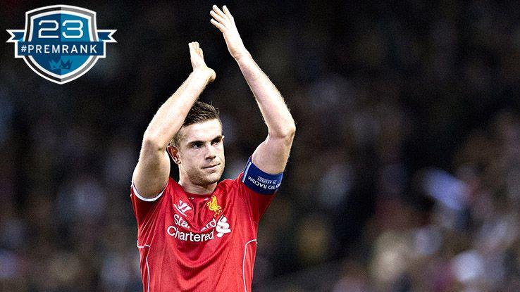 Jordan Henderson Premier League rank