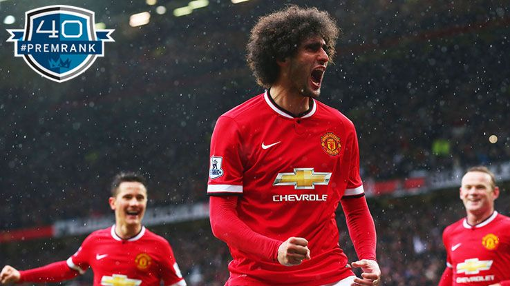 Marouane Fellaini Premier League rank