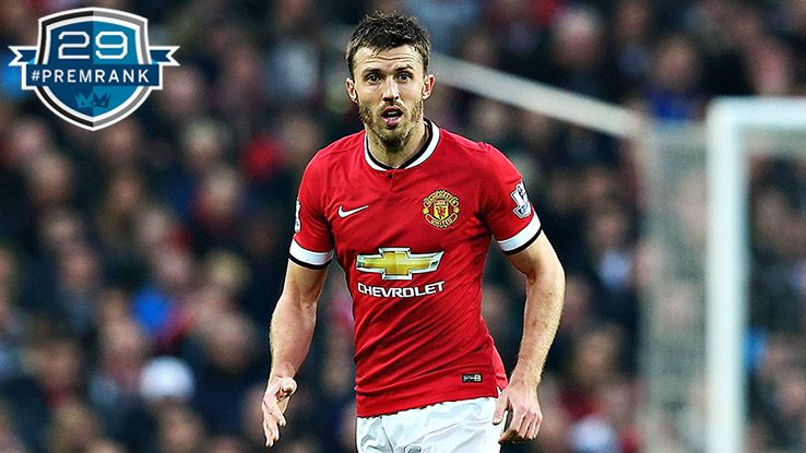 Michael Carrick Premier League rank