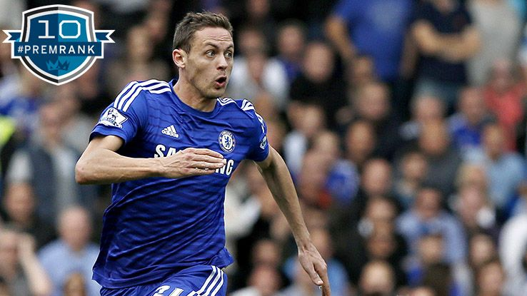 Nemanja Matic Premier League rank