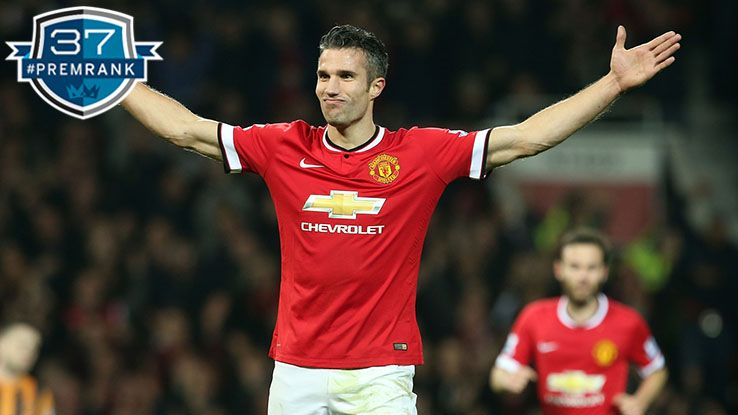 Robin van Persie Premier League rank