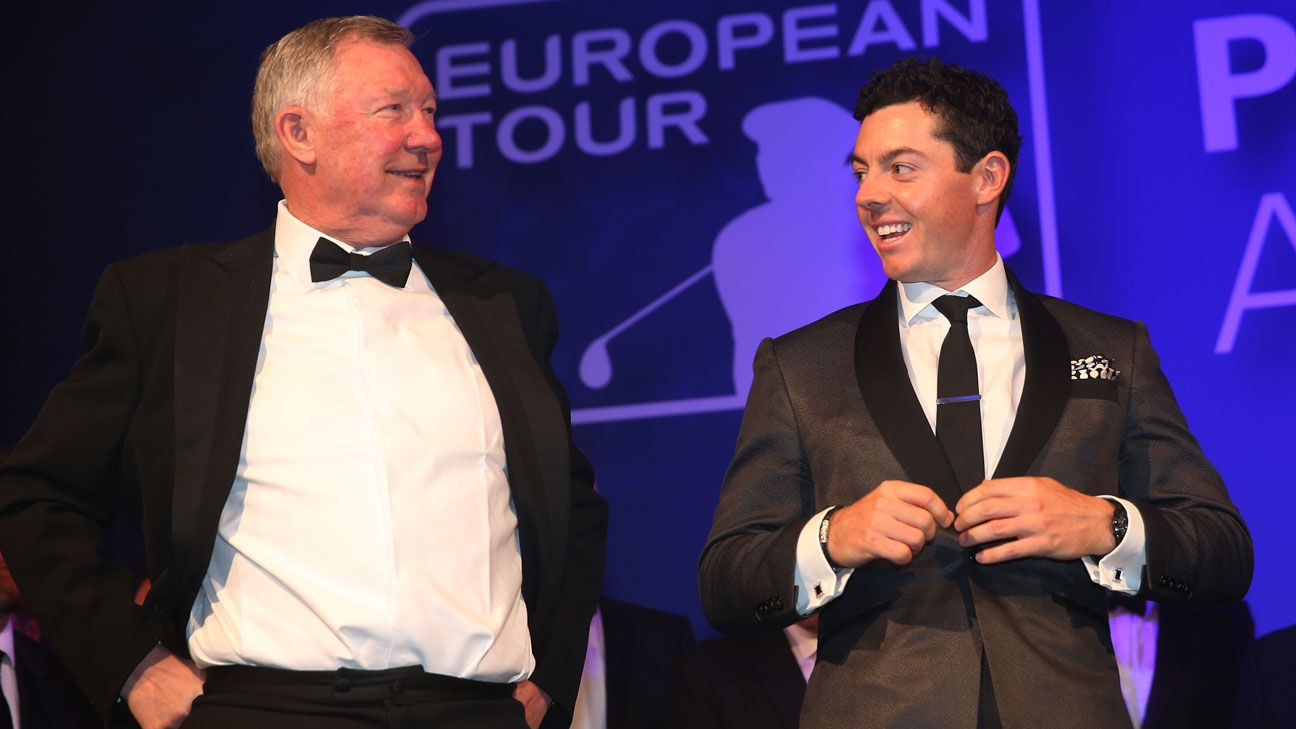 Sir Alex Ferguson Rory McIlroy