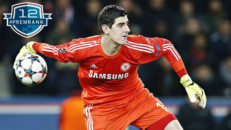 Thibaut Courtois Premier League rank