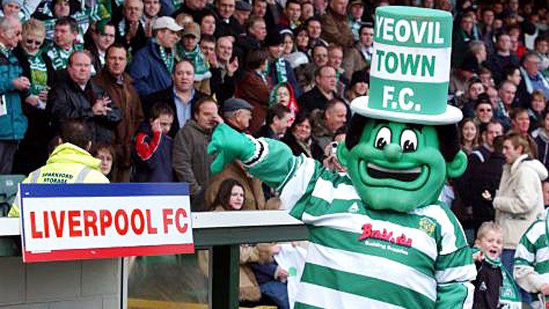 Yeovil Town mascot