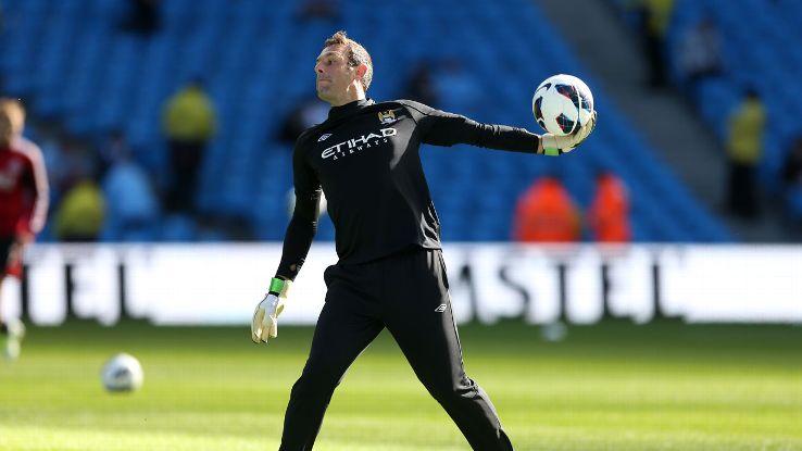 Richard Wright Manchester City 2012