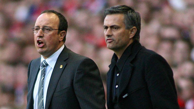 Rafa Benitez Jose Mourinho 2007