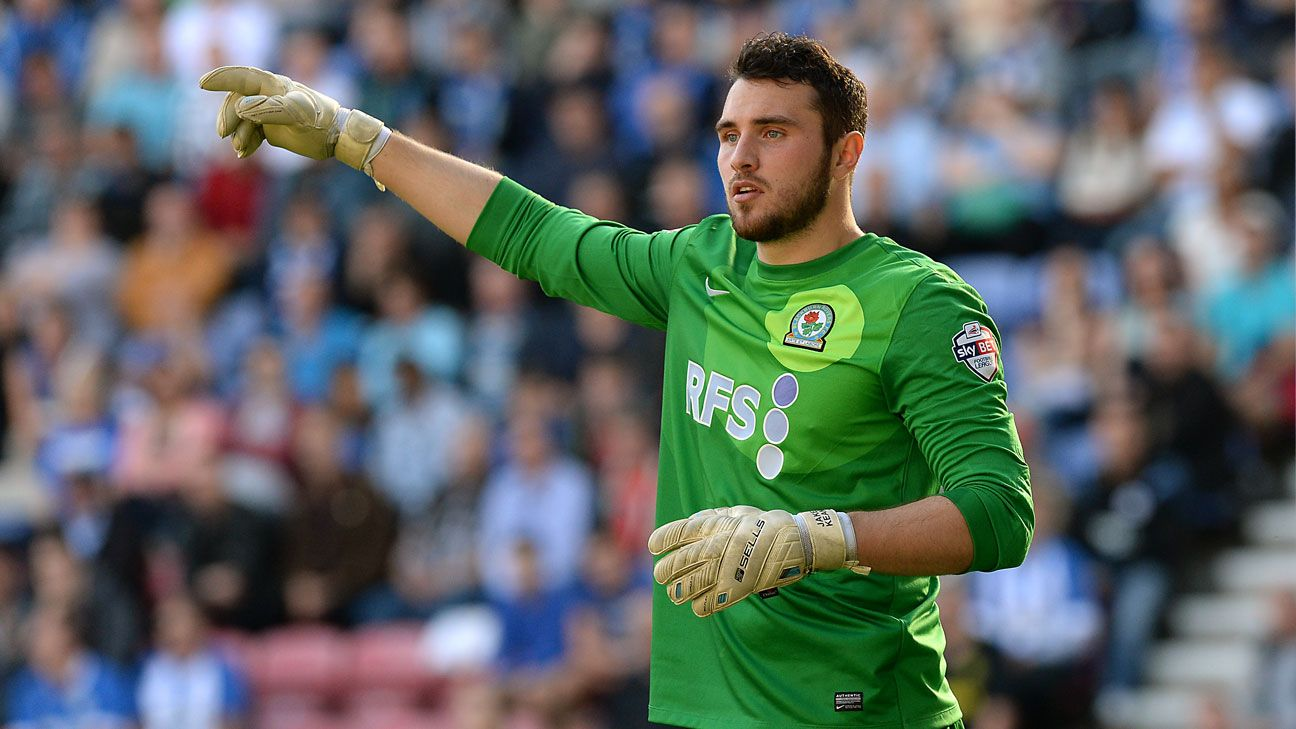 Goalkeeper Jake Kean Blackburn Rovers
