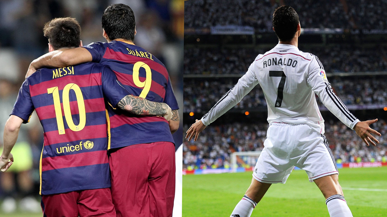 Messi Suarez Ronaldo