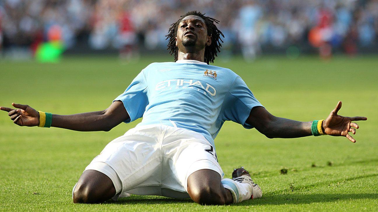 Emmanuel Adebayor Manchester City Arsenal