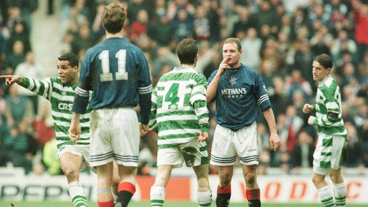 Paul Gascoigne Rangers Celtic 1996