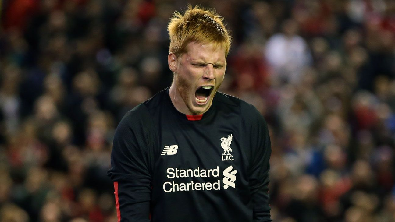 Adam Bogdan Liverpool penalty celeb