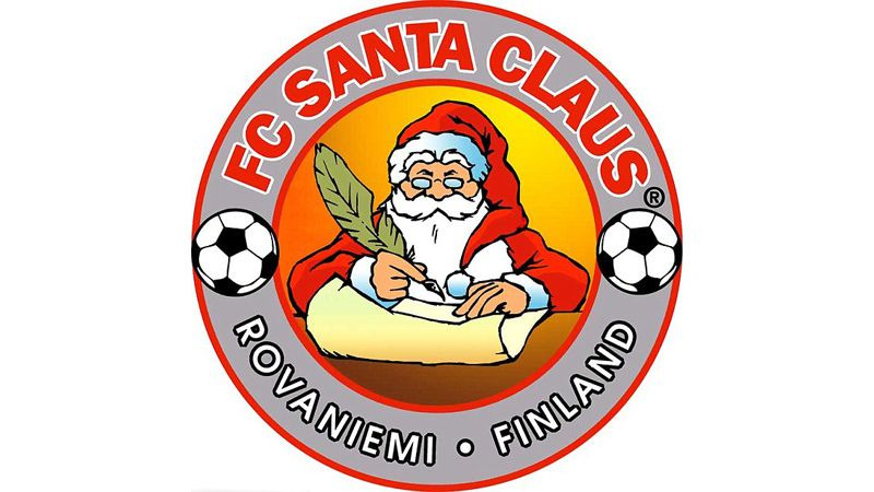 FC Santa Claus' badge