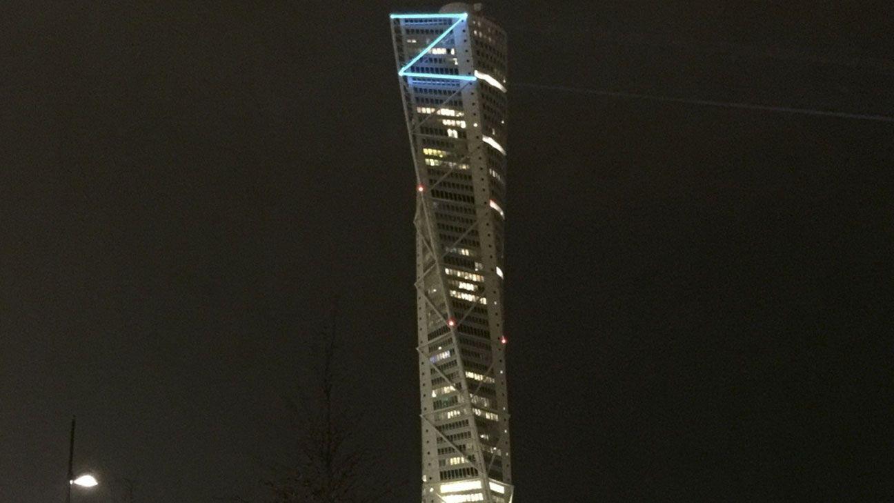 Zlatan skyscraper