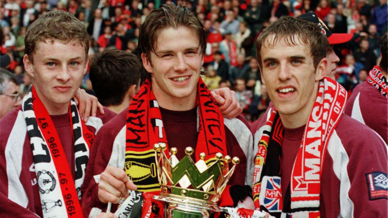 Manchester United 1997 title win