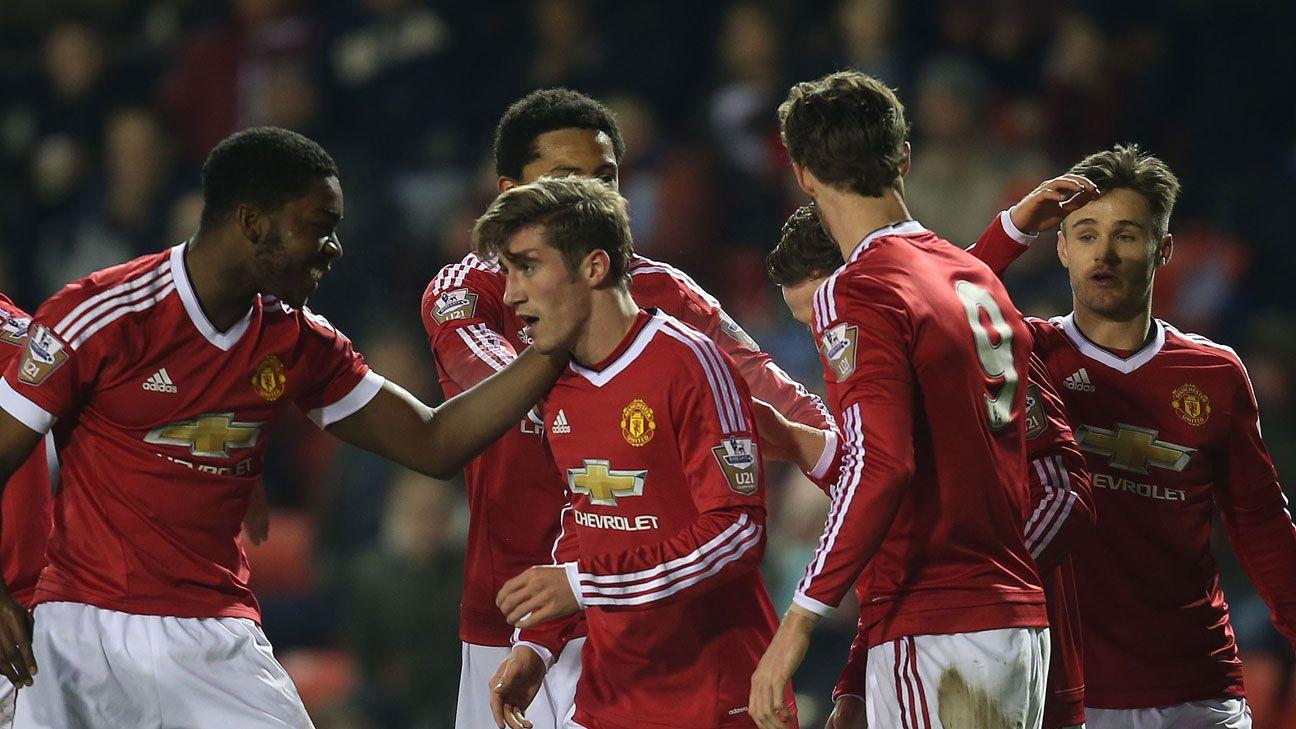 Joe Rothwell Manchester United U21s