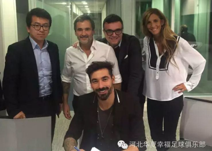 Ezequiel Lavezzi Hebei China Fortune 20160217