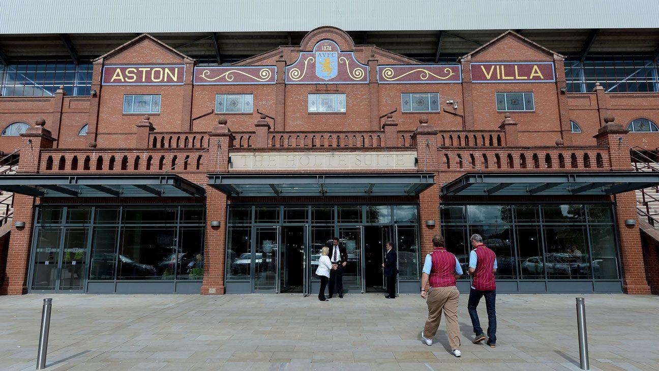 Villa Park outside general exterior stadium