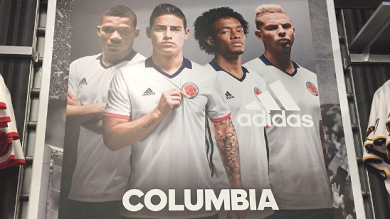Colombia advert Adidas