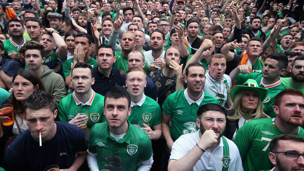 Ireland fans Euro 2016