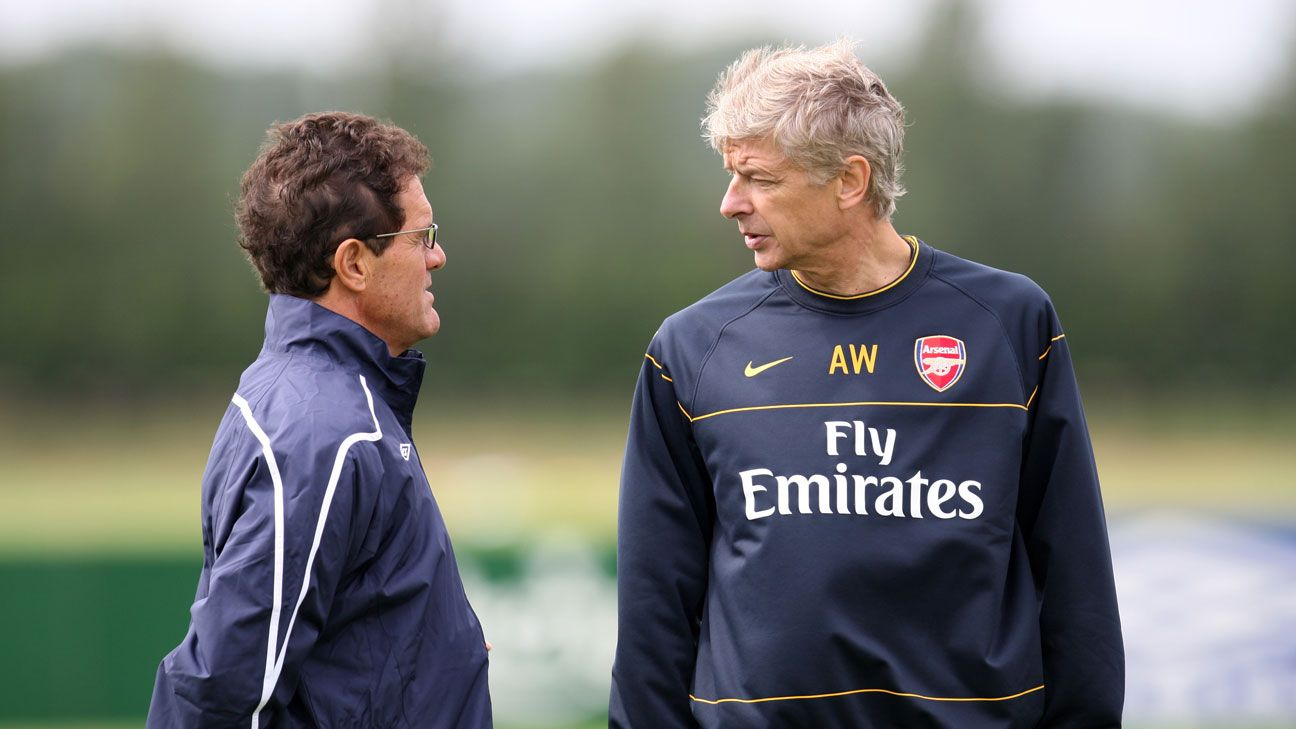 Fabio Capello Arsene Wenger 2008