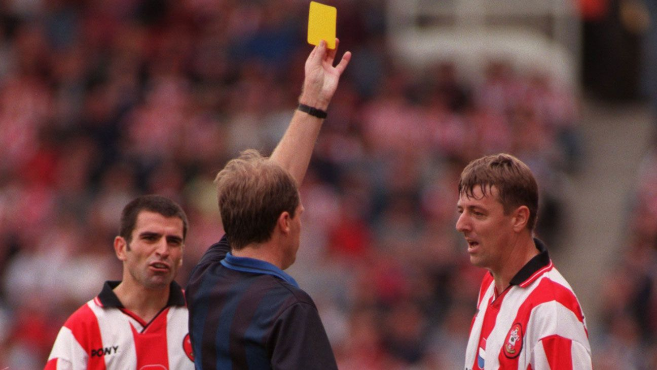 Matt Le Tissier and Francis Benali