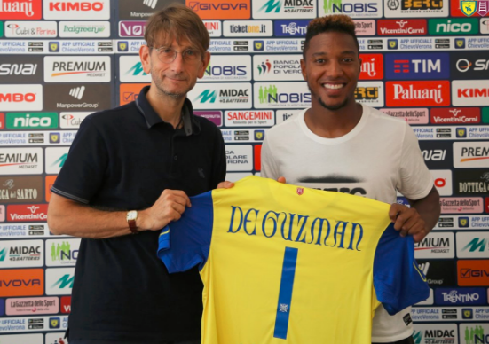 De Guzman shirt Chievo