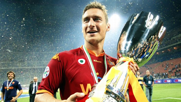 Roma and Italy legend Francesco Totti 10 photos of the ...
