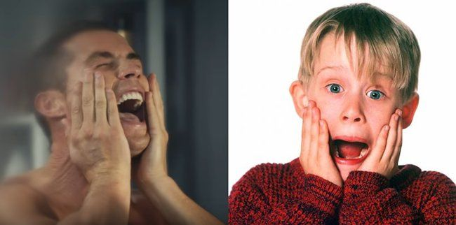 Cristiano Ronaldo recreates famous Macauley Culkin  'Home Alone' scenes