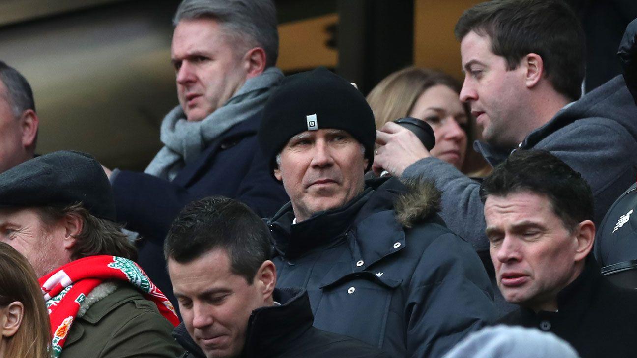 Will Ferrell Liverpool