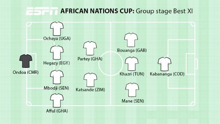 AFCON Best Group XI