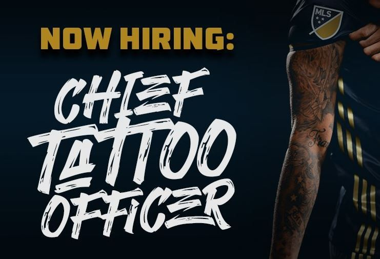 Philadelphia Union chief tattoo officer