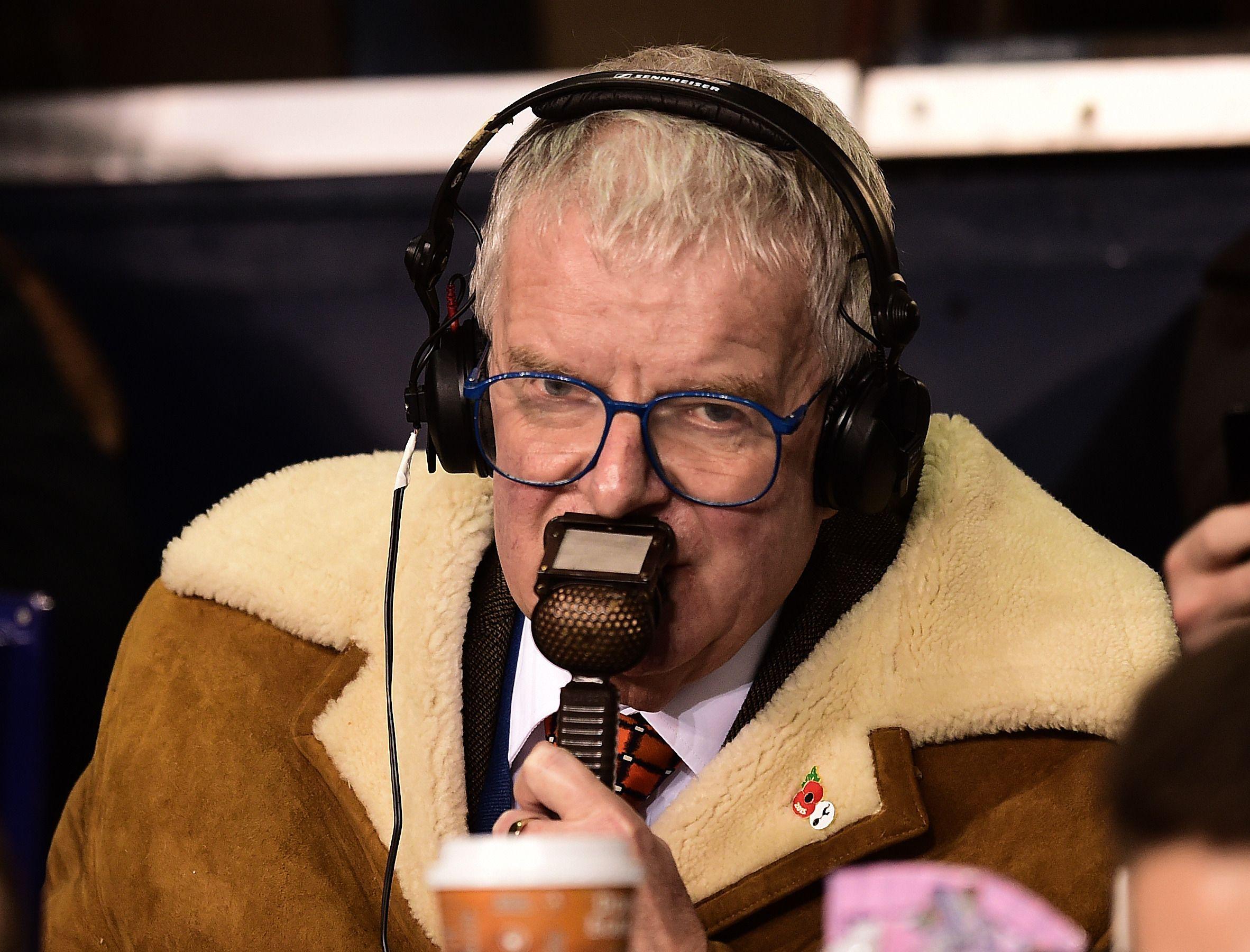 Veteran BBC commentator John Motson