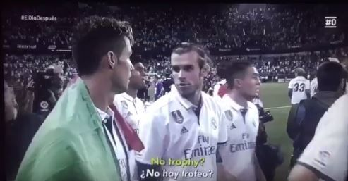 Gareth Bale Cristiano Ronaldo realise there is no trophy
