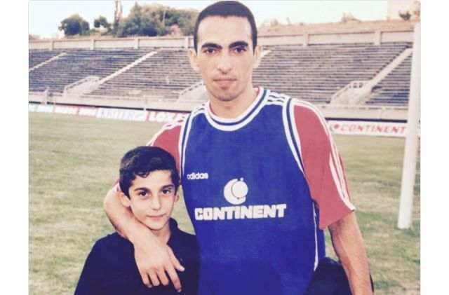 Henrikh Mkhitaryan and Youri Djorkaeff