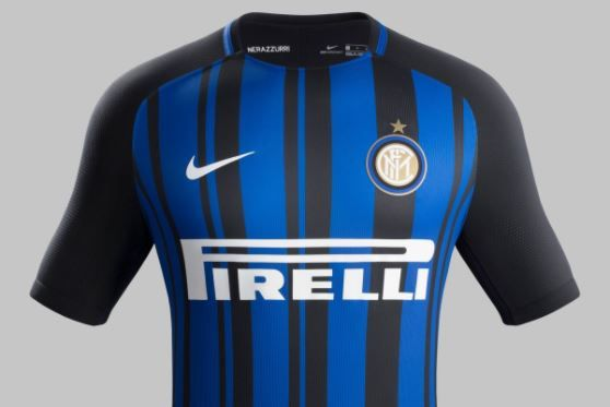 Inter Milan 2017-18 kit