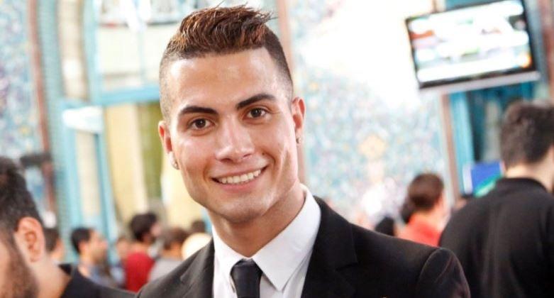Iranian Cristiano Ronaldo lookalike